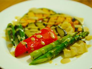 野菜のグリル